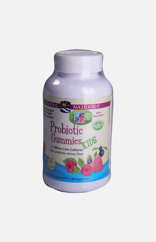 Nordic Natural Probiotic Gummies (Merry Berry Punch)