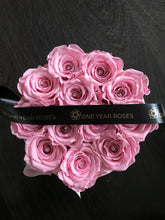 French Grey Box of Roses - Lasts 1 Year