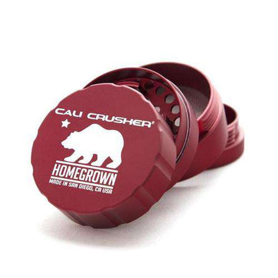 Cali Crusher Homegrown 4-Piece Large-Red