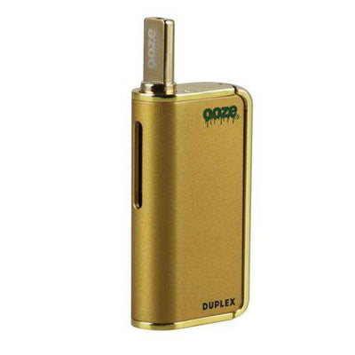 Ooze Duplex Dual Extract Portable Vaporizer-Gold