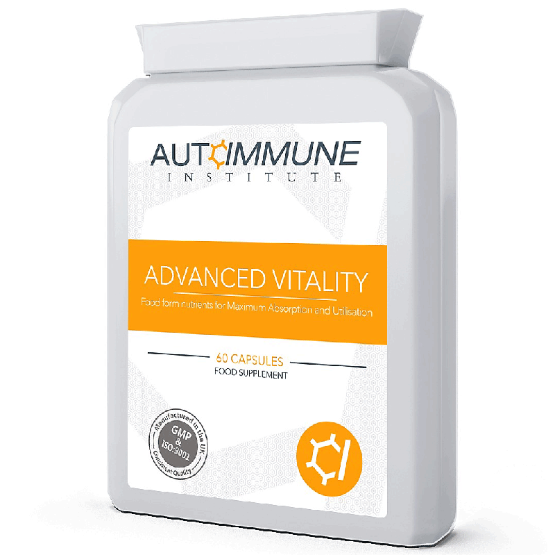 Advanced Vitality - Natural Energy Supplement for Fatigue