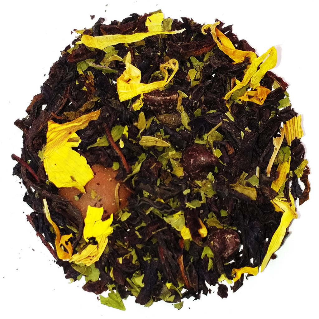 Black Tea Chocolate Mint