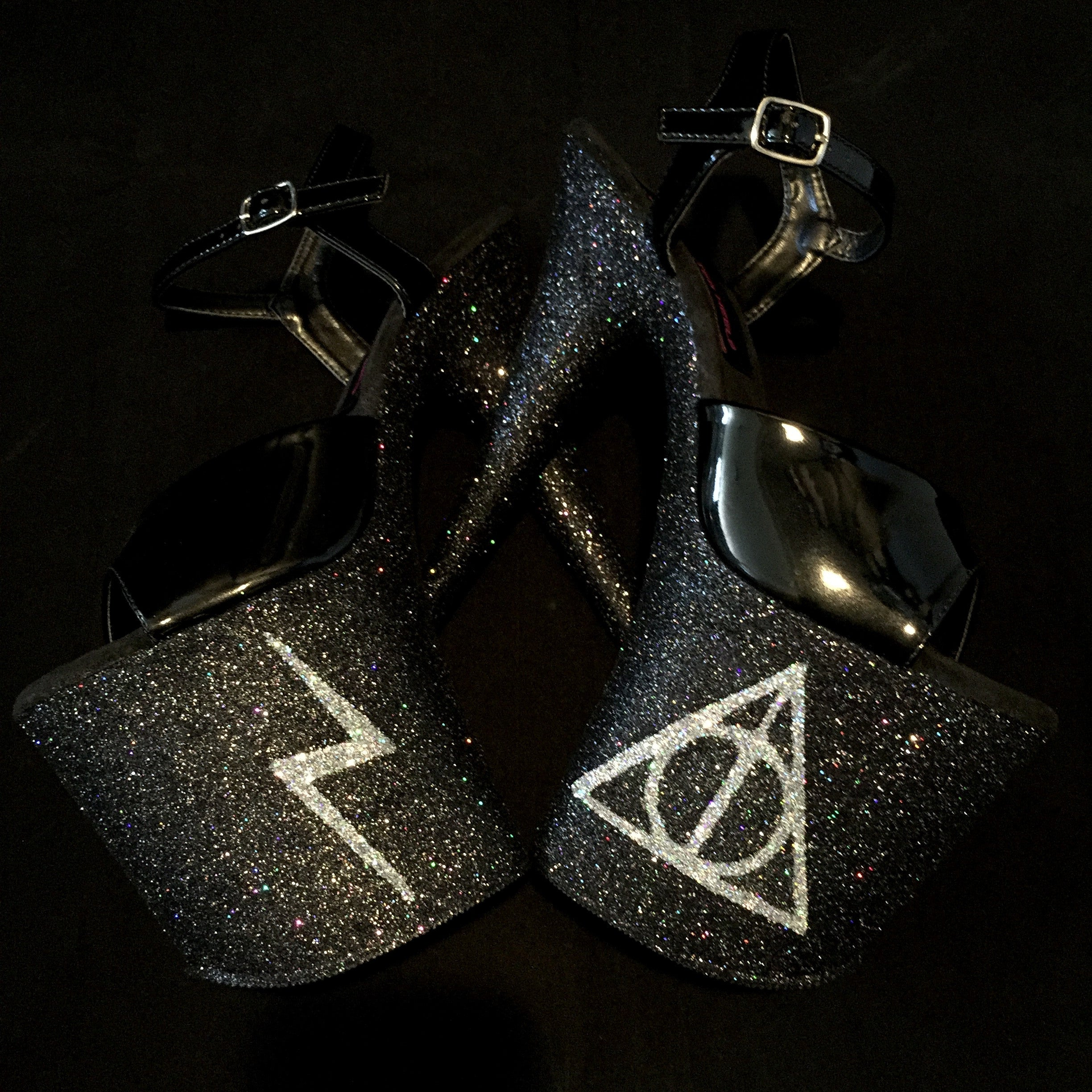 "8"" Harry Potter GlitterHeelsXPleaser"