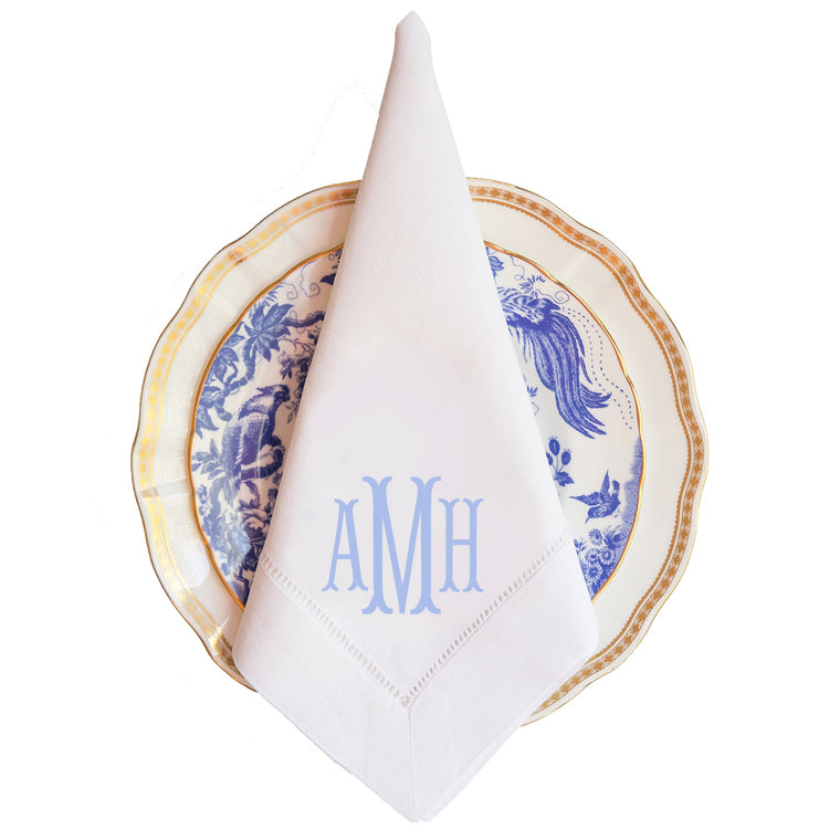 Beaufort Monogram Dinner Napkin