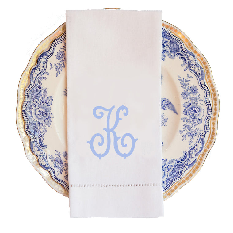 Savannah Monogram Guest Towel