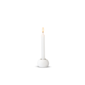 White Dot Candle Holder