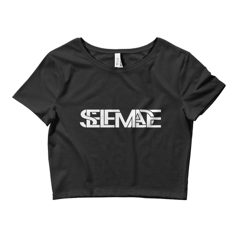 Ladies' SelfmadeBlock Crop Tee