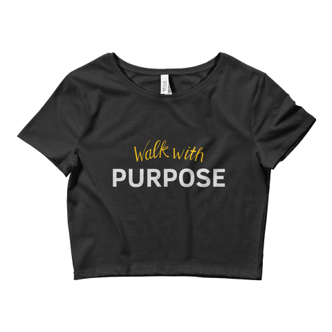 Ladies' Purpose Crop Tee