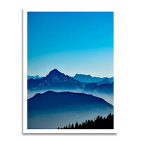 poster - Blue Sky Mountain - Blue Sky Mountain|stikeo.com