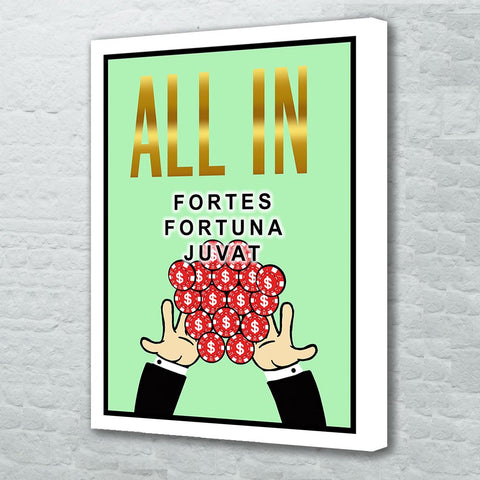 All in - Fortes Fortuna Juvat