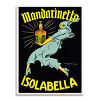 poster - Affiche Vintage - Mandarinetto Isolabella - Affiche Vintage - Mandarinetto Isolabella|stikeo.com