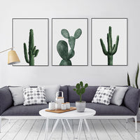 poster - Watercolor Cactus Collection - Watercolor Cactus Collection | poster | STIKEO.COM|stikeo.com