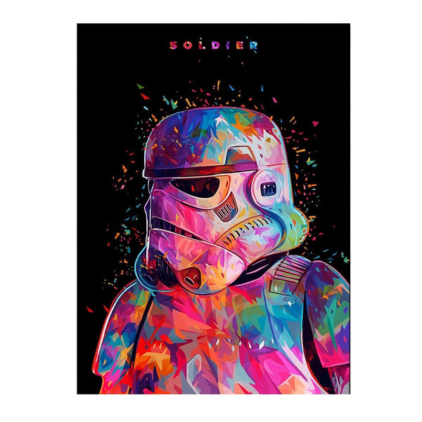Affiche Stormtrooper - PoP Art