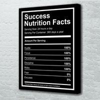 tableau - Success Nutrition Facts - Success Nutrition Facts|stikeo.com