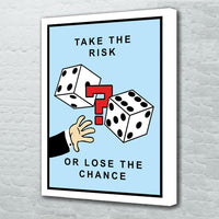 tableau - Take The Risk - Take The Risk|stikeo.com