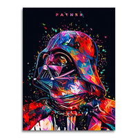 tableau - Dark Vador - PoP Art - Dark Vador - PoP Art|stikeo.com