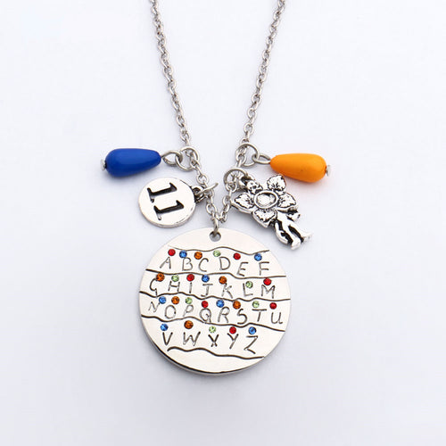 Stranger Things Necklace with Pendant