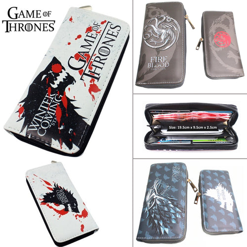 20% OFF LIMITED TIME OFFER - Game of Thrones Clutch Wallet