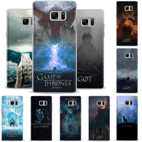 31% OFF LIMITED TIME OFFER - Game of Thrones Samsung Note Series Hard Phone Case Cover - 10 Designs