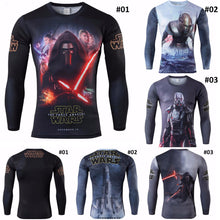 Star Wars: The Force Awakens - Fitness Compression Long Sleeve Shirt