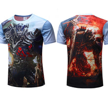 Transformers Fitness Short Sleeve Compression Shirt