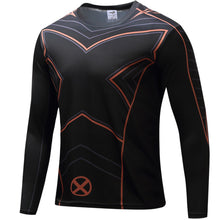 Superhero X-Men Long Sleeve Compression Shirt