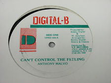 Anthony Malvo | Can't Control The Feeling / History Sound