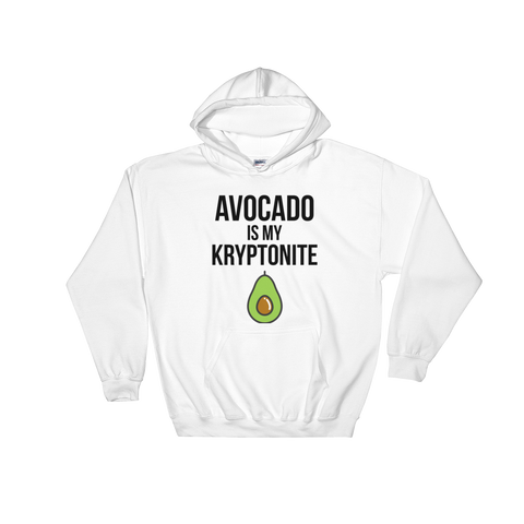 Avocado Is My Kryptonite - Hoodie