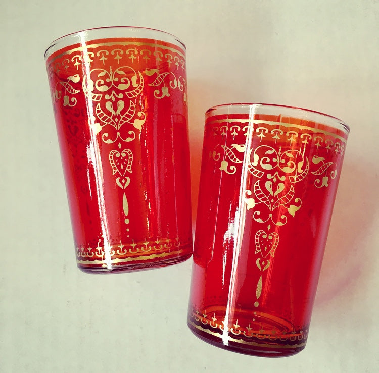 Mint Tea Glass Duo Glasses - Mashi Moosh