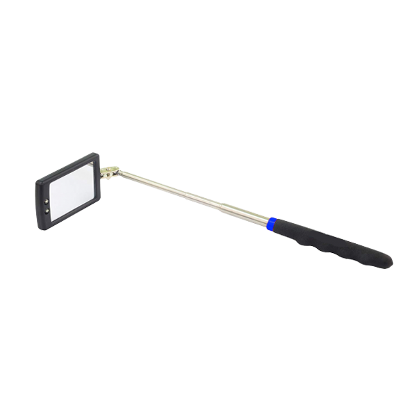 Tradequip Telescopic Inspection Mirror with 2 x LED lights