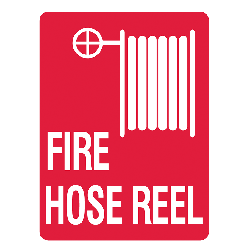 Brady Fire Equipment Signs: Fire Hose Reel