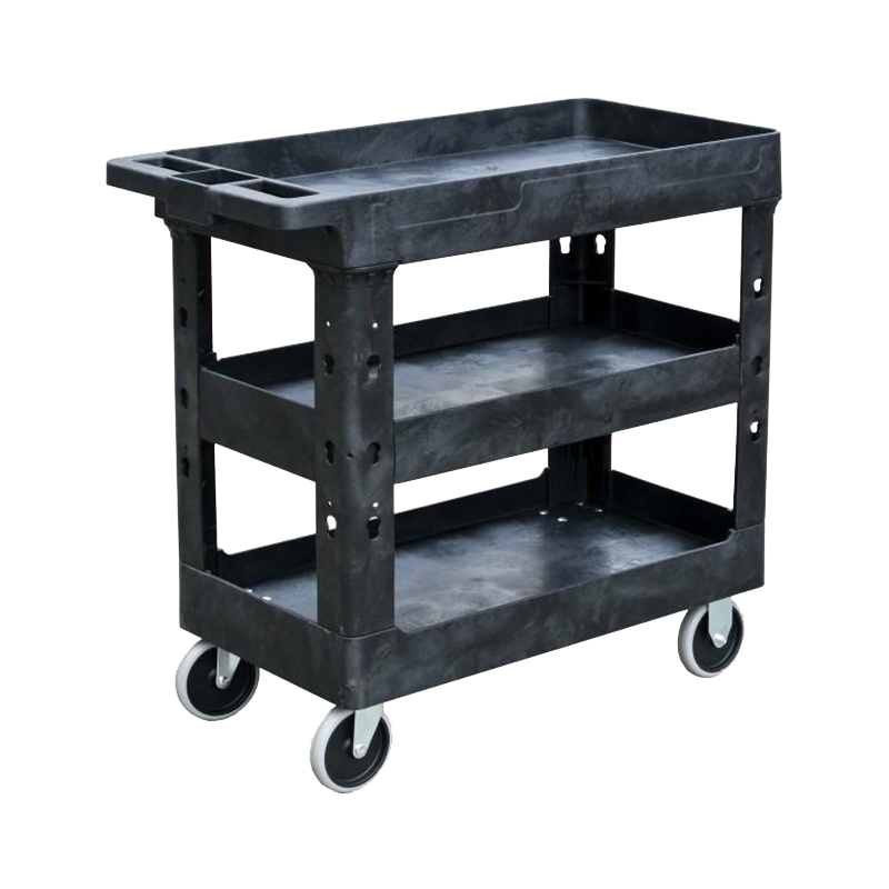 Tradequip Workshop Trolley 3 Tray Polymer 6045