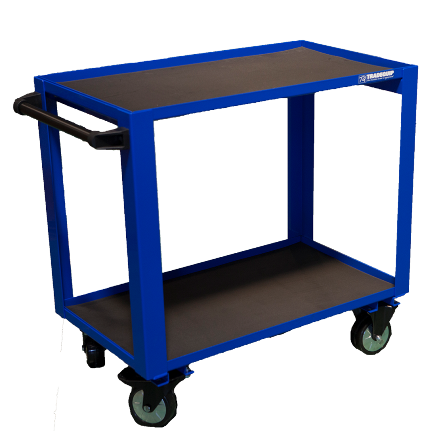 Tradequip Work Trolley 2 Tier 6048