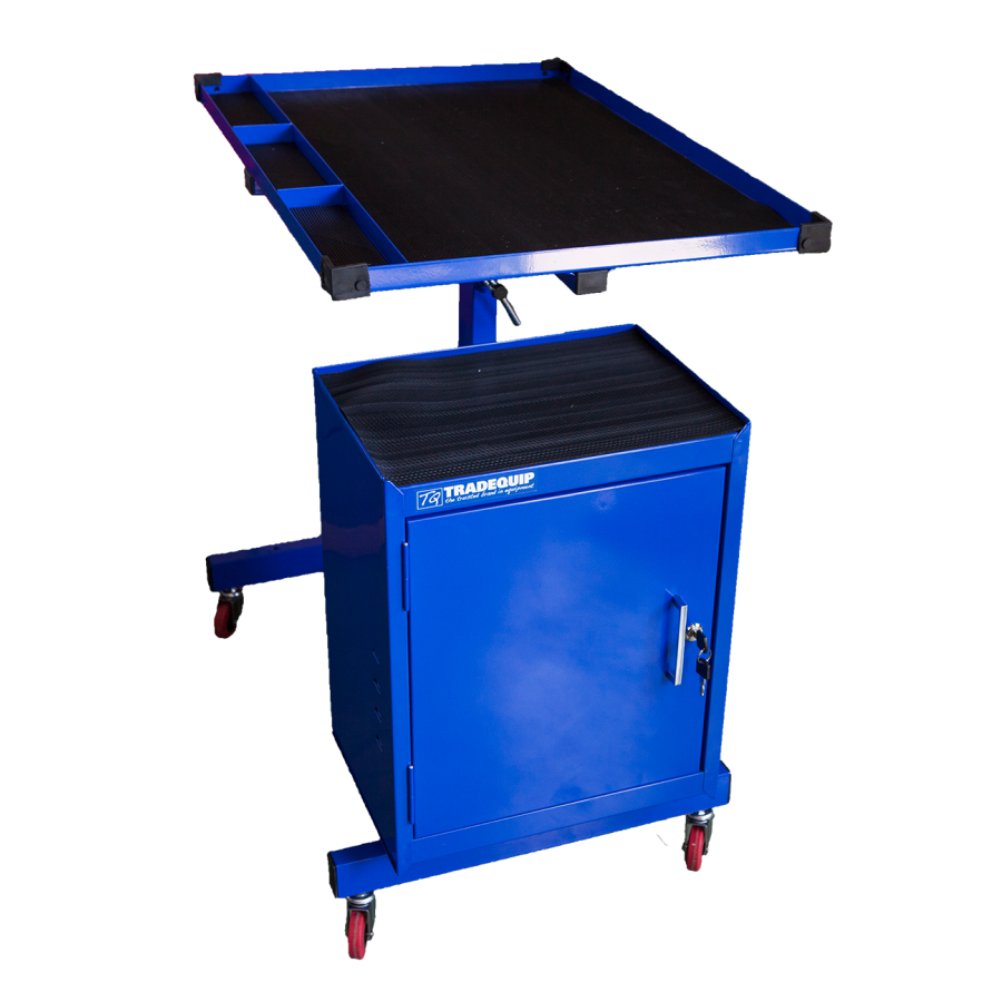 Tradequip Mobile Workshop Table 6049