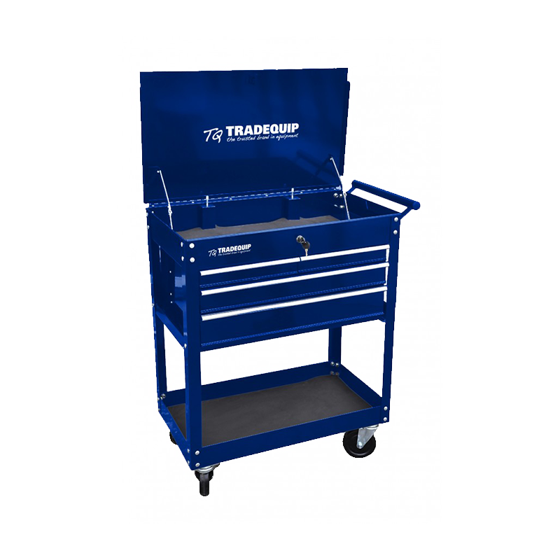 Tradequip Workshop Tool Trolley 4 Drawer 6052