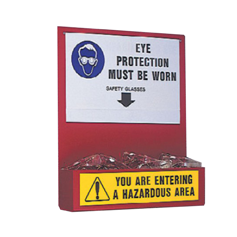 Brady Eye Protection Safety Station 836773