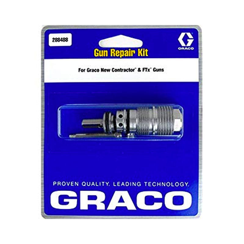 GRACO Repair Kit for Contractor and FTx Airless Spray Guns 288488