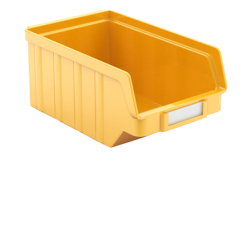 Tradequip Parts Bin Yellow 140mm L x 85mm W x 75mm Deep 6046-Y