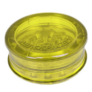 Aerospaced Yellow Acrylic Grinder 58mm - 2pc.