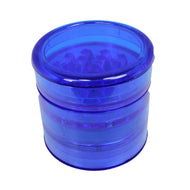 Aerospaced Blue Acrylic Grinder 58mm - 5pc.