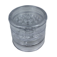 Aerospaced Clear Acrylic Grinder 58mm - 5pc.