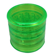 Aerospaced Green Acrylic Grinder 58mm - 5pc.