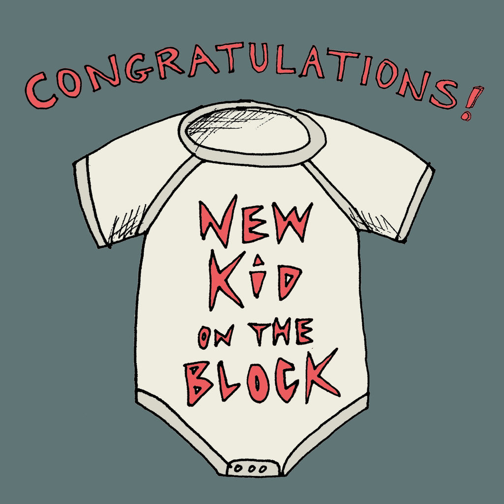 'New Kid on the Block' card, FP624