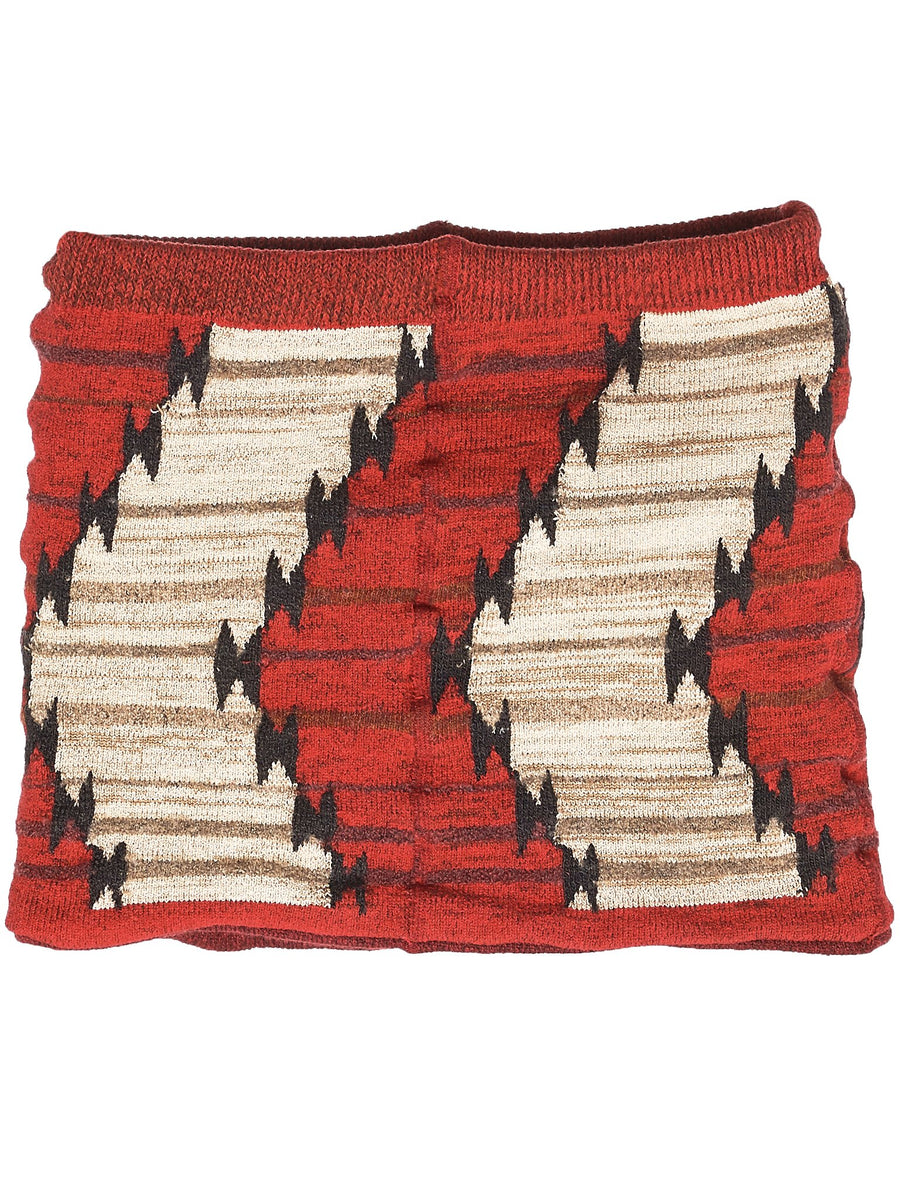 'Navajo Thunder' Knit Stole (EK-584-RED)