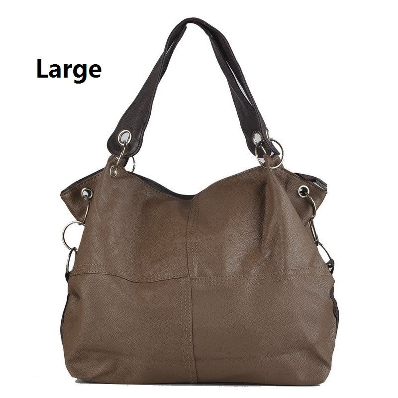 HOT!!!! Women Handbag Special Offer PU Leather bags women messenger bag/ Splice grafting Vintage Shoulder Crossbody Bags
