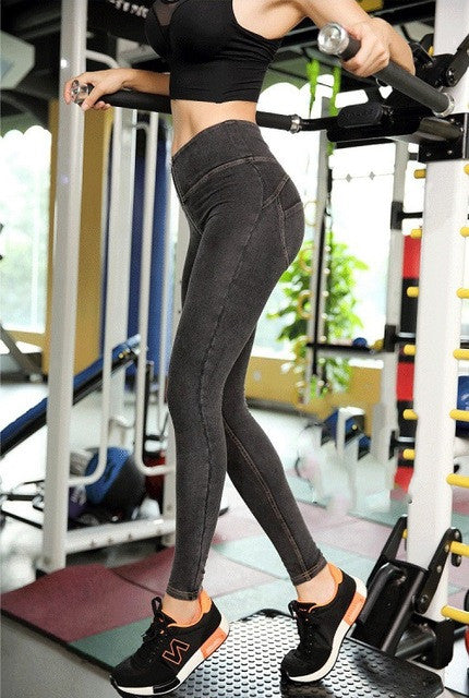New 2017 Freddy Pants High Waist Leggings Plus Size Push Up Leggings Hip Elastic For Freddy Jeans Pants Bodybuilding