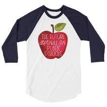 The Future Depends On Public Schools Baseball Shirt
