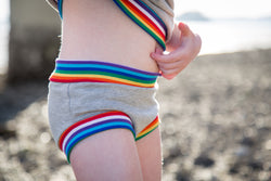 Retro Rainbow Bummies