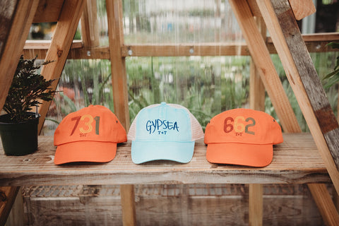 Area Code 662 Orange Hat