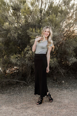 MACEY MAXI SKIRT